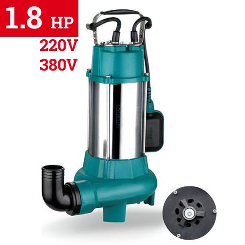 Υποβρύχια Αντλία Λυμάτων με κοπτήρες LEPONO XSP 18-12 - 1.8 HP